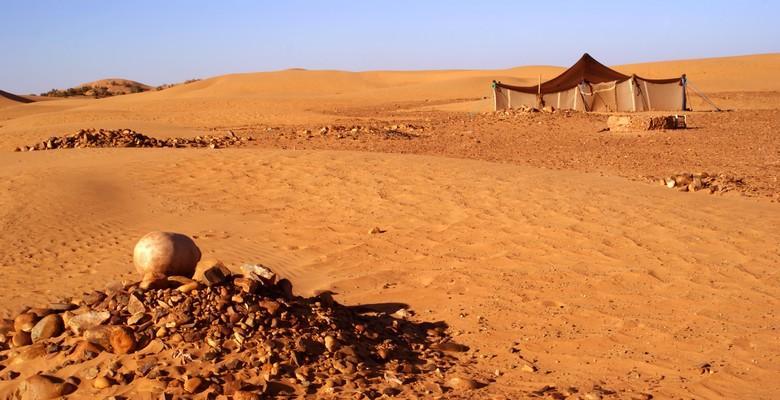 Nomads in Erg Chebbi area