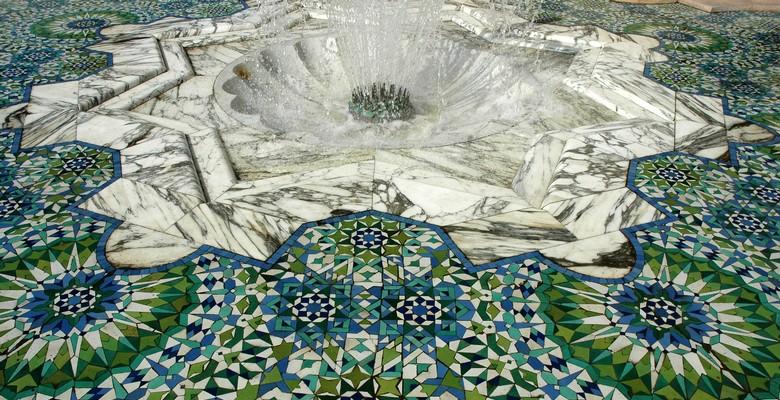 Mosaic HAssan II Casablanca