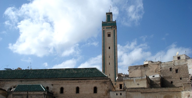 Mosque in the old Medina of Casablanca