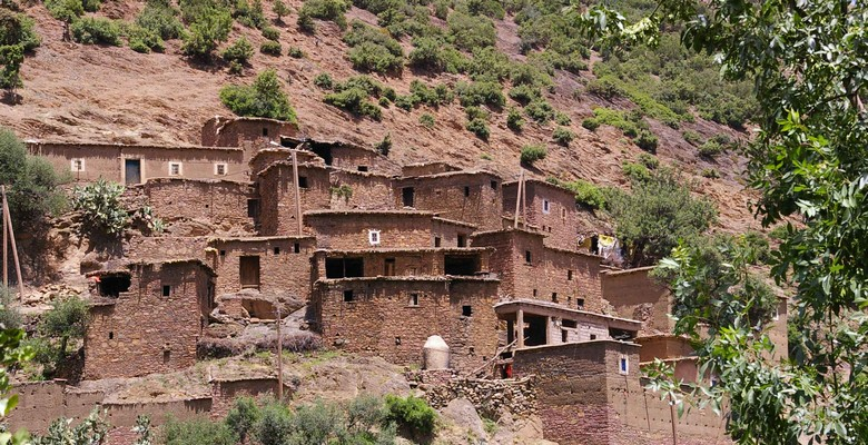 Berber Village high Atlas mountains
